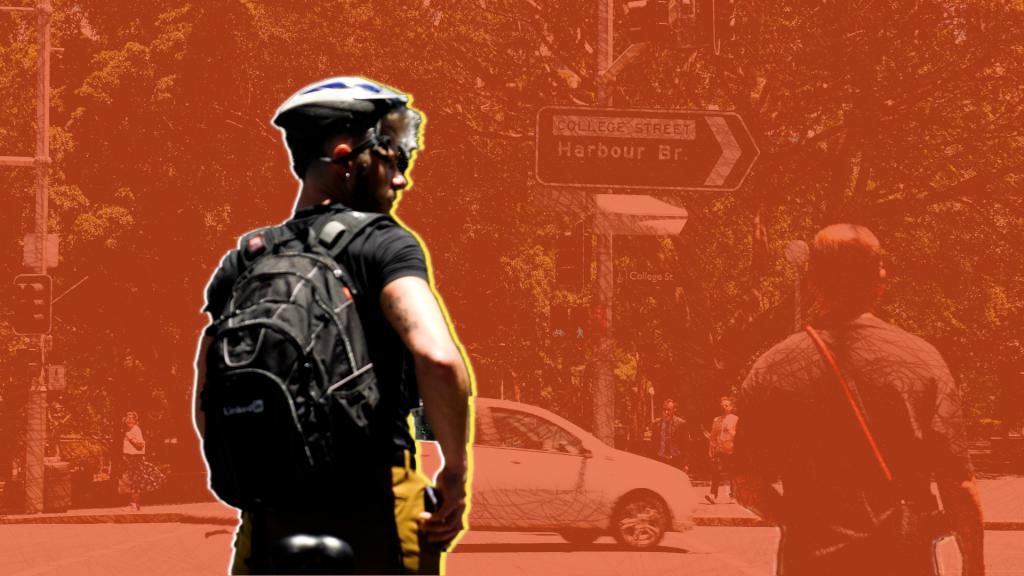 Guardian Sydney cycleways story bourke st oxford st